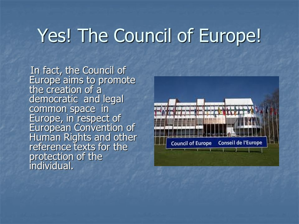 The European Convention on Human Rights.