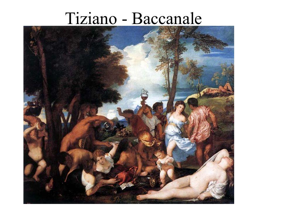 Tiziano - Baccanale