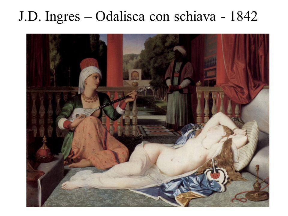 J.D. Ingres – Odalisca con schiava - 1842