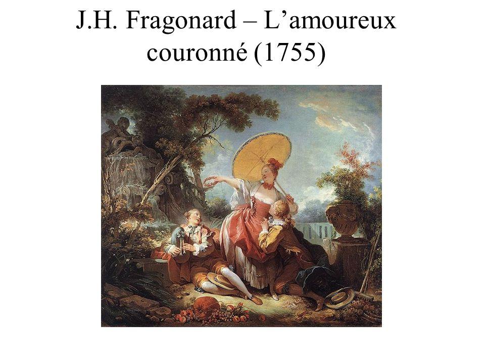 J.H. Fragonard – Lamoureux couronné (1755)
