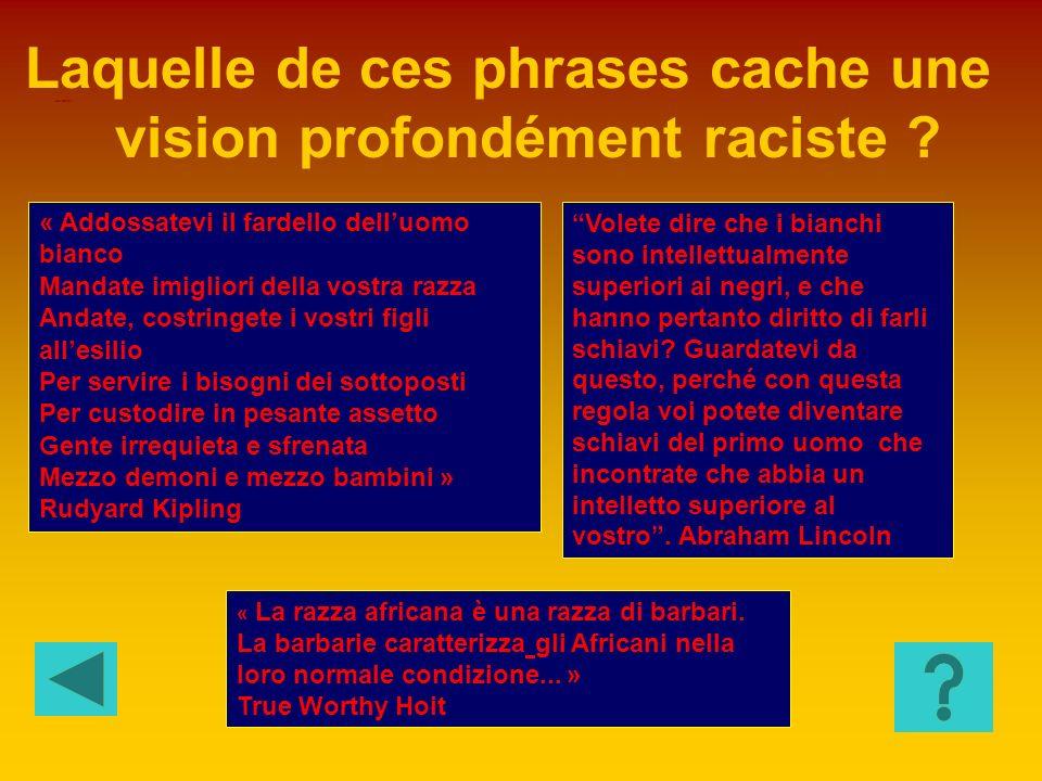 La justice sociale Lémigration Le racisme Limpérialisme peut constituer un exutoire pour: HISTOIRE 6