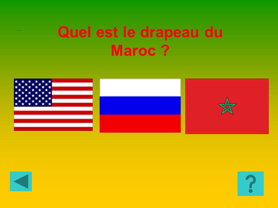 Quel est le drapeau du Sénégal? GEOGRAPHIE 6