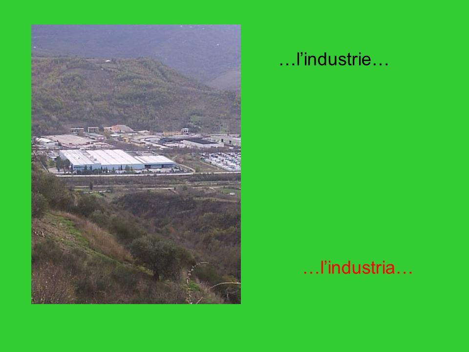 …lindustrie… …lindustria…