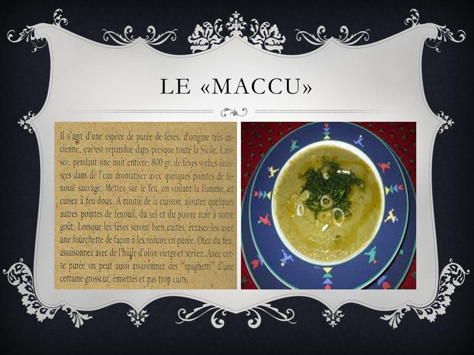 LE «MACCU»