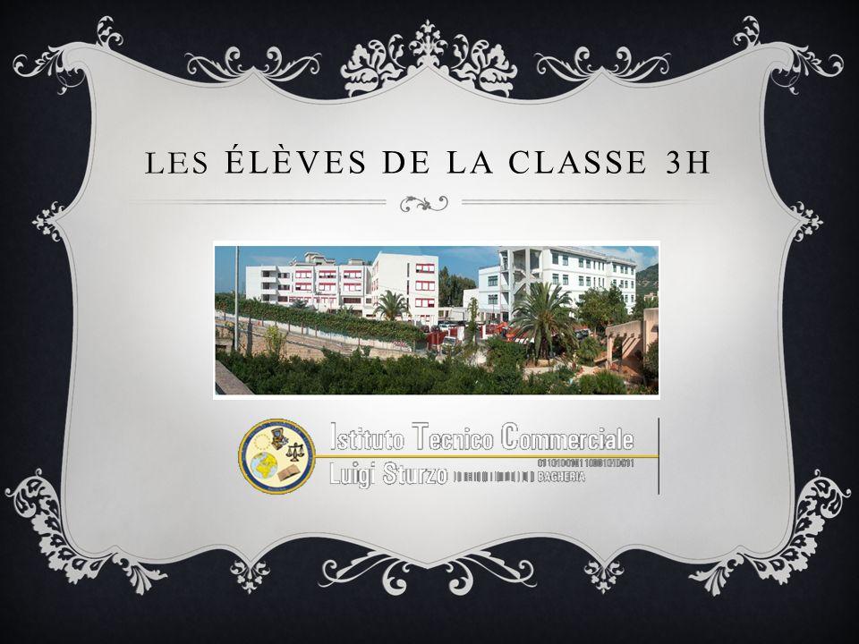 LES ÉLÈVES DE LA CLASSE 3H