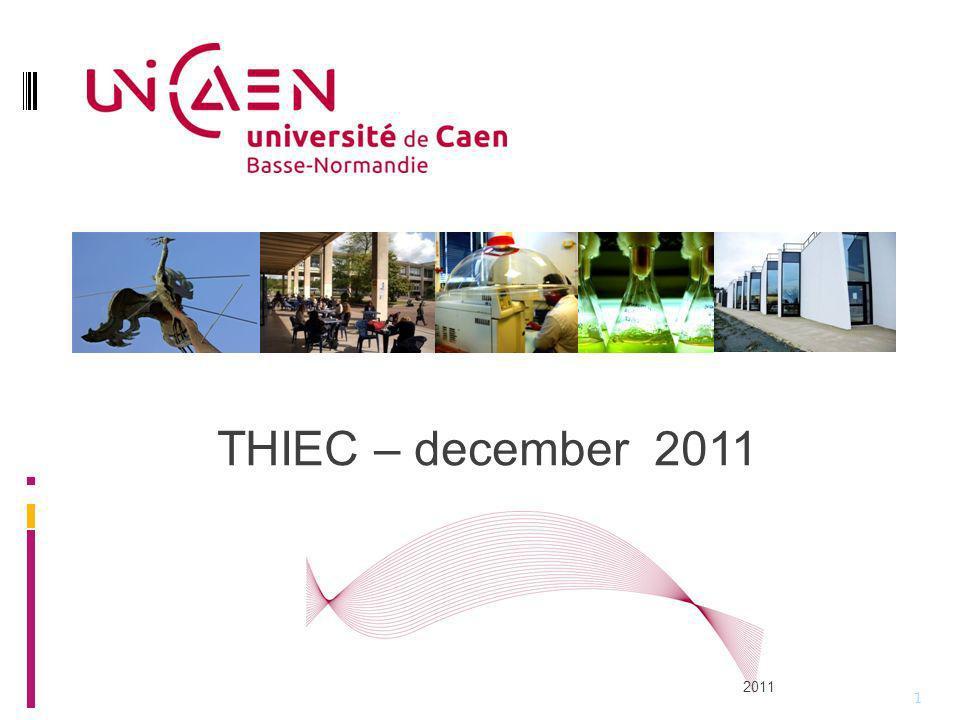 THIEC – december 2011 2011 1