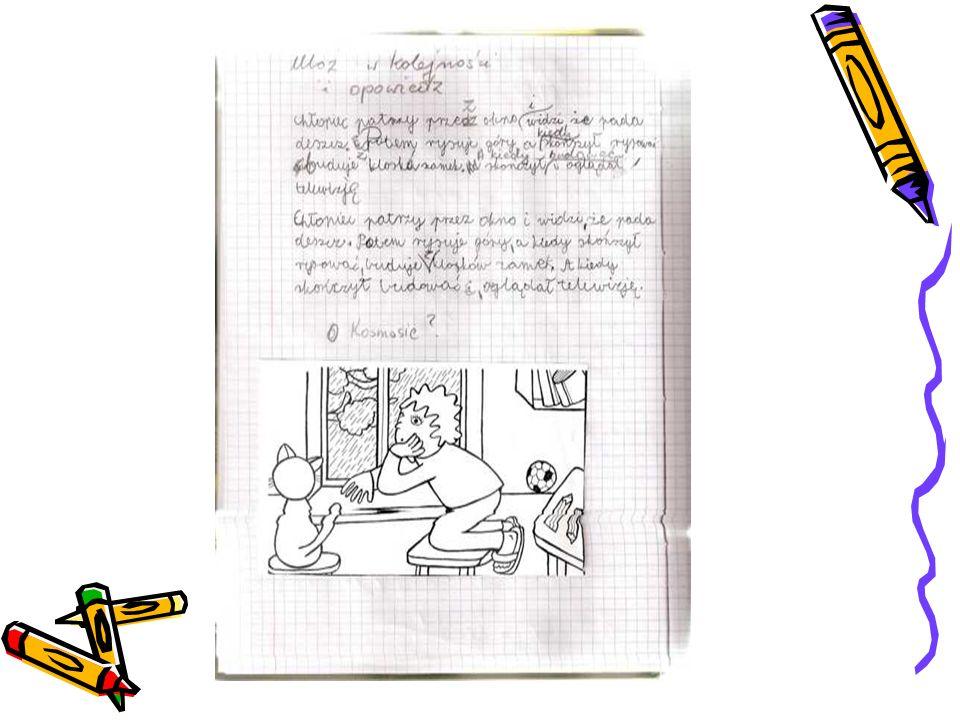exemples de travaux de Michel - suite Une aventure avec mon ami Texte préparé sans appui visuel (entièrement à inventer)