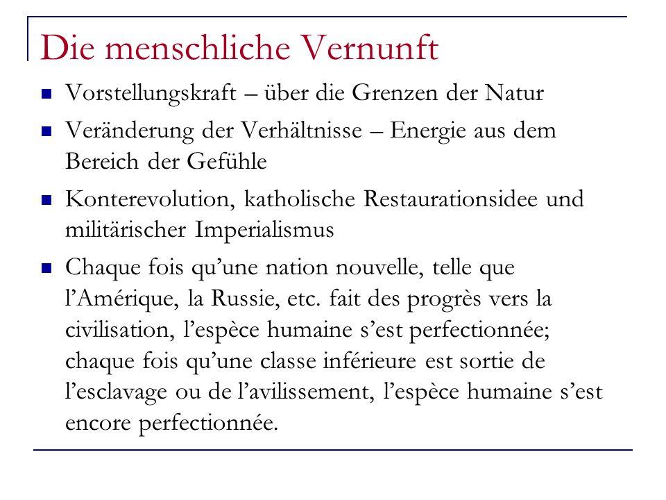 Die Rechtfertigung der Revolution Maximilien Robespierre Sehnsucht nach einer autoritären Herrschaft Le mauvais goût, tel quon la vu dominer pendant quelques années de la révolution, nest pas nuisible seulement aux relations de la société et à la littérature; il porte atteinte à la morale.