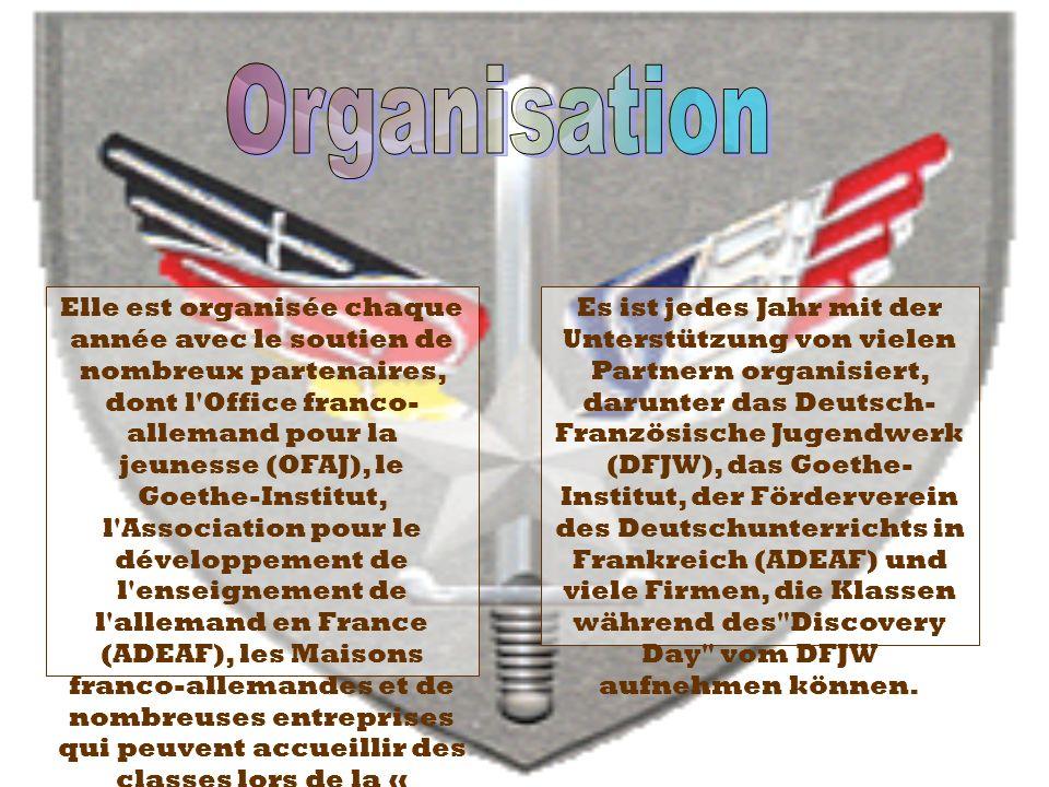Elle est organisée chaque année avec le soutien de nombreux partenaires, dont l'Office franco- allemand pour la jeunesse (OFAJ), le Goethe-Institut, l
