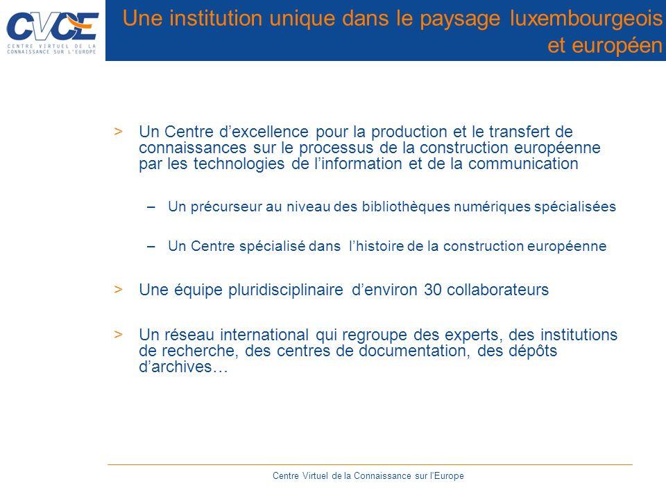 DELOS Reference Model Centre Virtuel de la Connaissance sur l Europe
