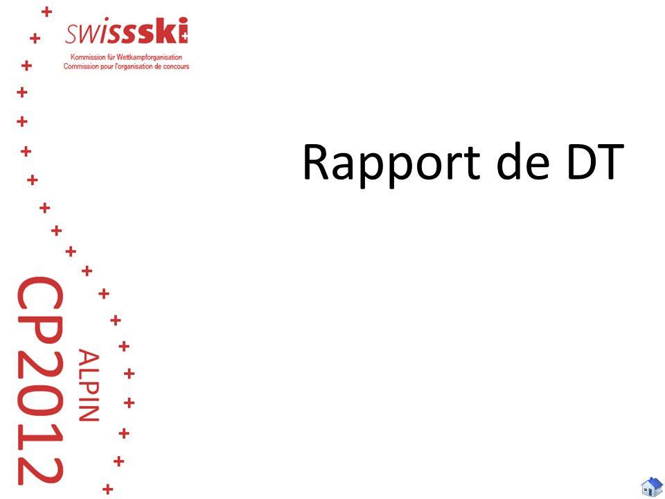 Rapport de DT