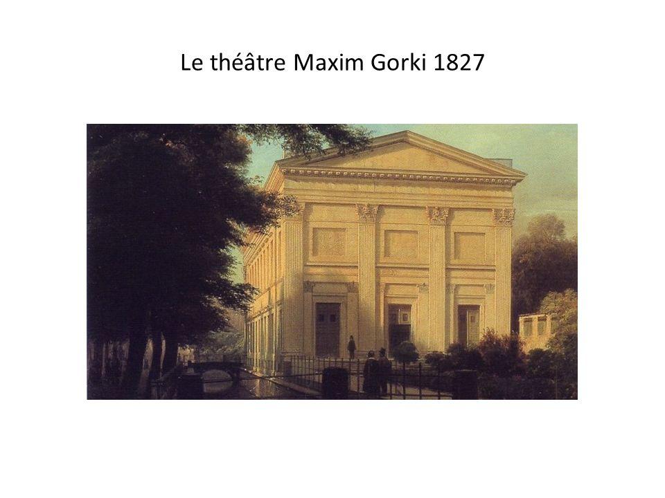 Le théâtre Maxim Gorki 2013