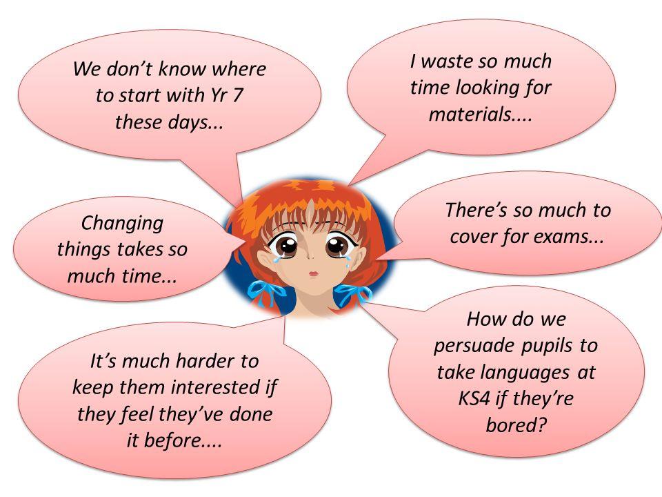New curriculum, new flexibilities...