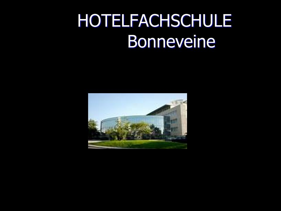 HOTELFACHSCHULE Bonneveine