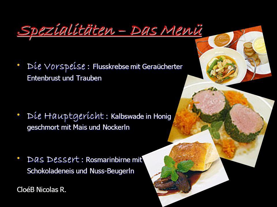 Das Restaurant Das Restaurant liegt in Wien.