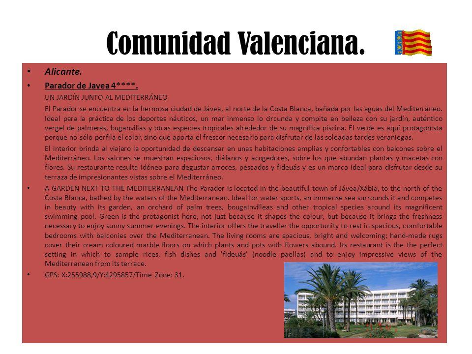 Comunidad Valenciana.Alicante. Parador de Javea 4****.