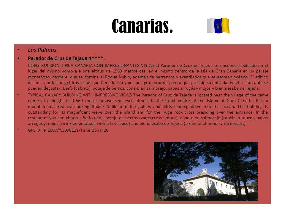 Canarias. Las Palmas. Parador de Cruz de Tejada 4****. CONSTRUCCIÓN TÍPICA CANARIA CON IMPRESIONANTES VISTAS El Parador de Cruz de Tejeda se encuentra