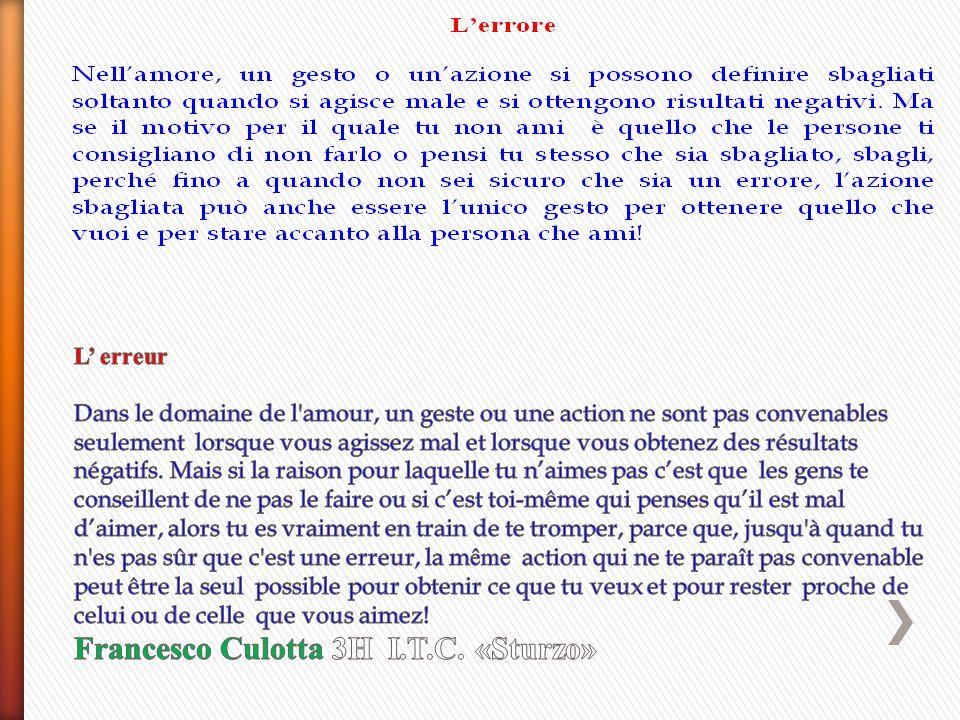Giulia Ribera 3I I.T.C. «Sturzo»