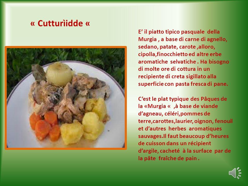 «Trìppe che l patàn» Trippa con patate E un piatto tipico di tutta la Puglia, molto apprezzato dai buongustai, a base di trippa, patate, olio extra- v