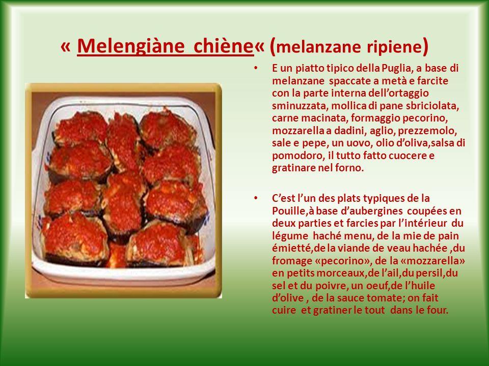 «Scarciòffe ndoràt e frìtte o chiène« ( carciofi fritti o ripieni al forno ) I carciofi si possono mangiare in tanti modi, ma i classici sono: fritti