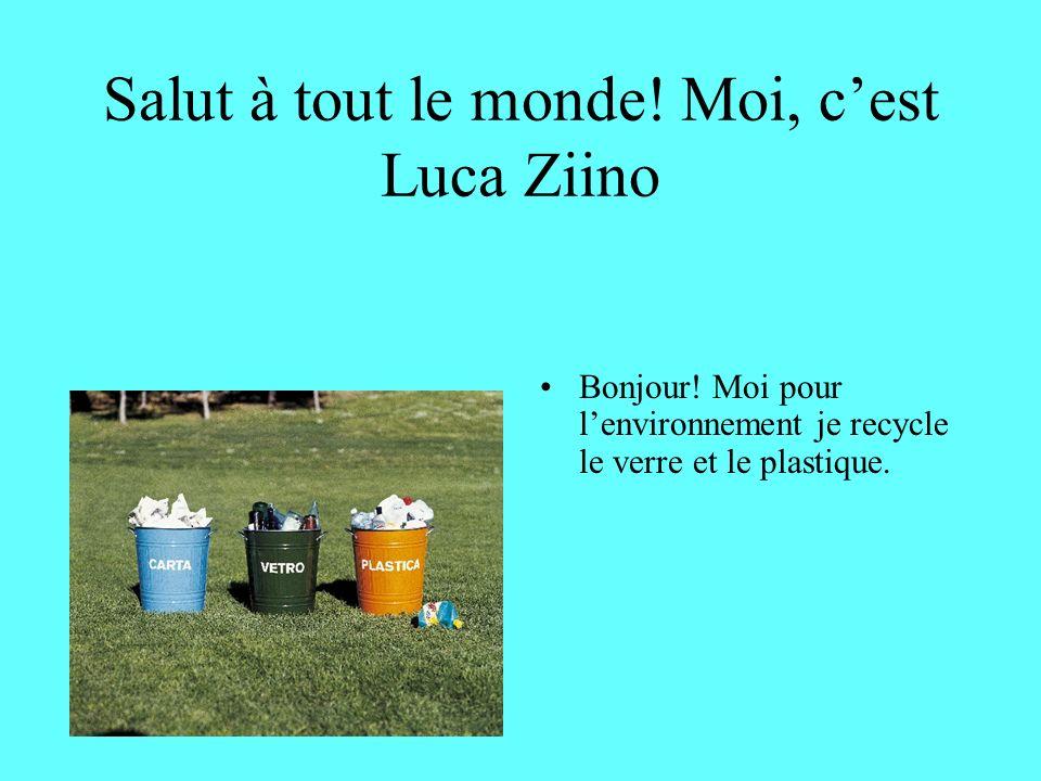 In più… Faccio la raccolta differenziata, sto attenta ai rifiuti, e quando mangio in un parco raccolgo i miei rifiuti.