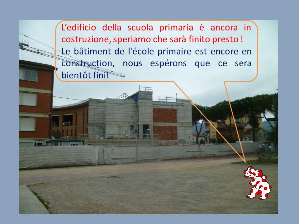 Ledificio della scuola primaria è ancora in costruzione, speriamo che sarà finito presto .