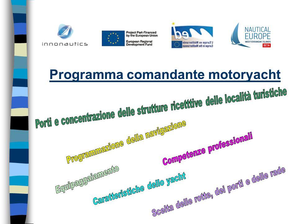 Programma comandante motoryacht