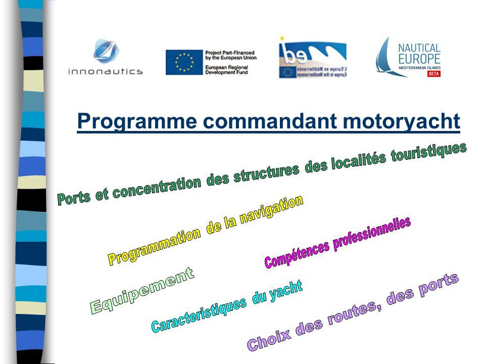 Programme commandant motoryacht