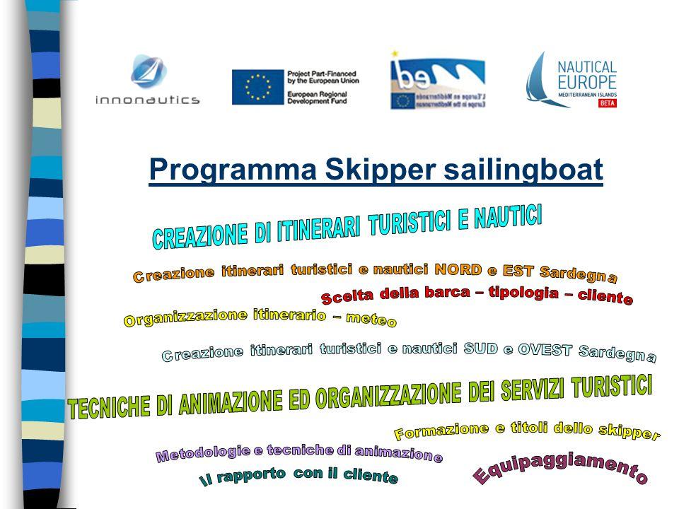 Programma Skipper sailingboat