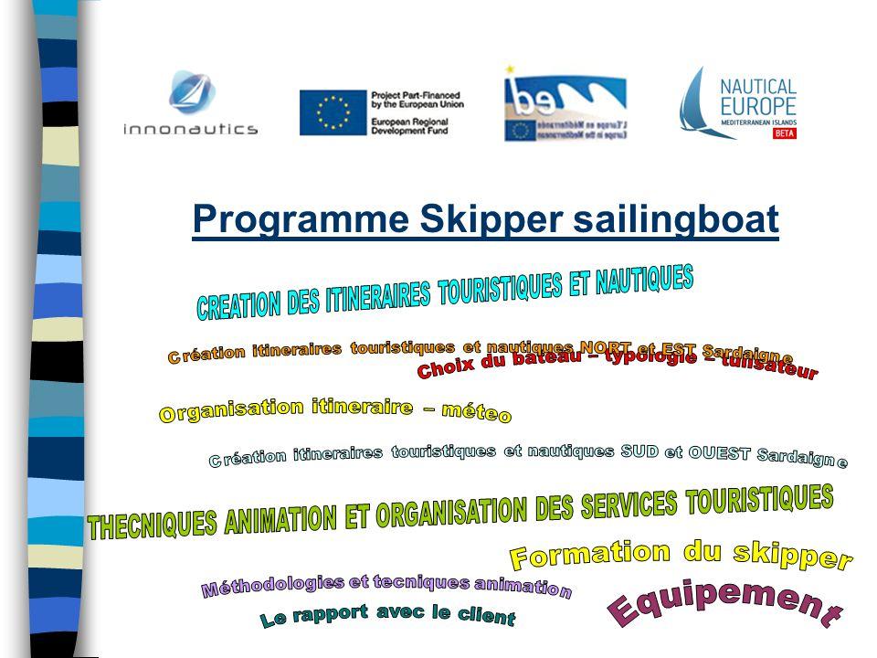Programme Skipper sailingboat
