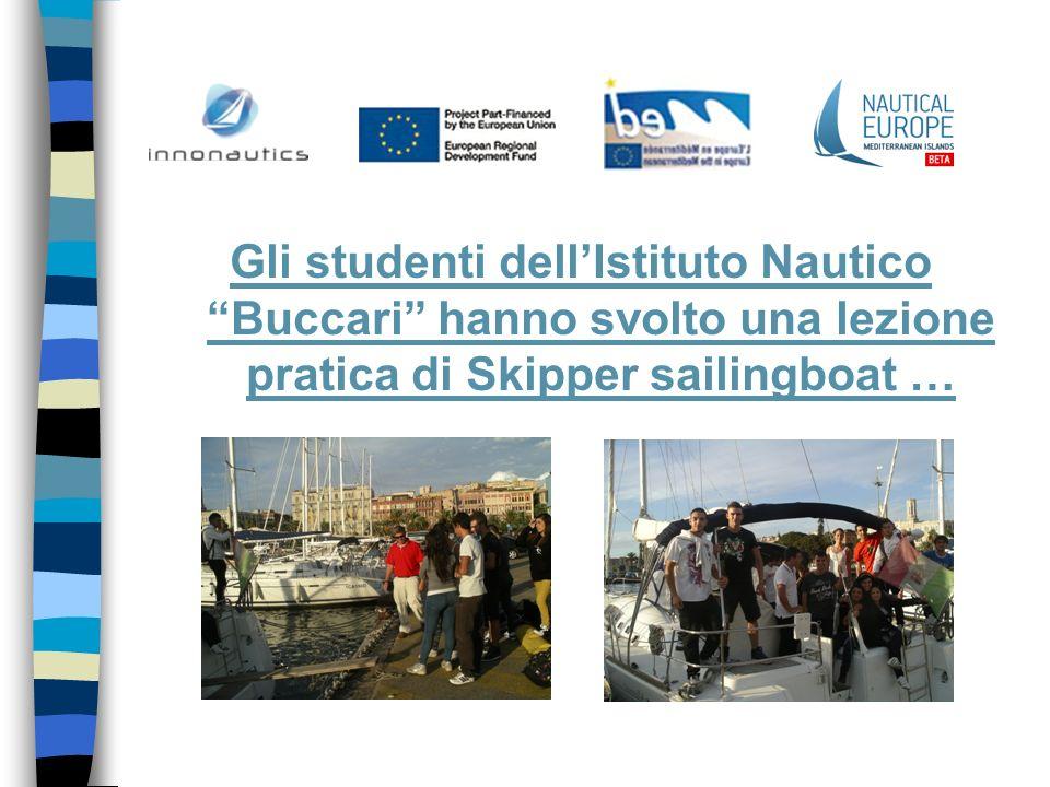 Gli studenti dellIstituto Nautico Buccari hanno svolto una lezione pratica di Skipper sailingboat …