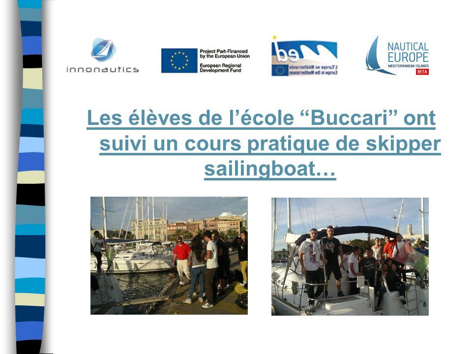 Les élèves de lécole Buccari ont suivi un cours pratique de skipper sailingboat…