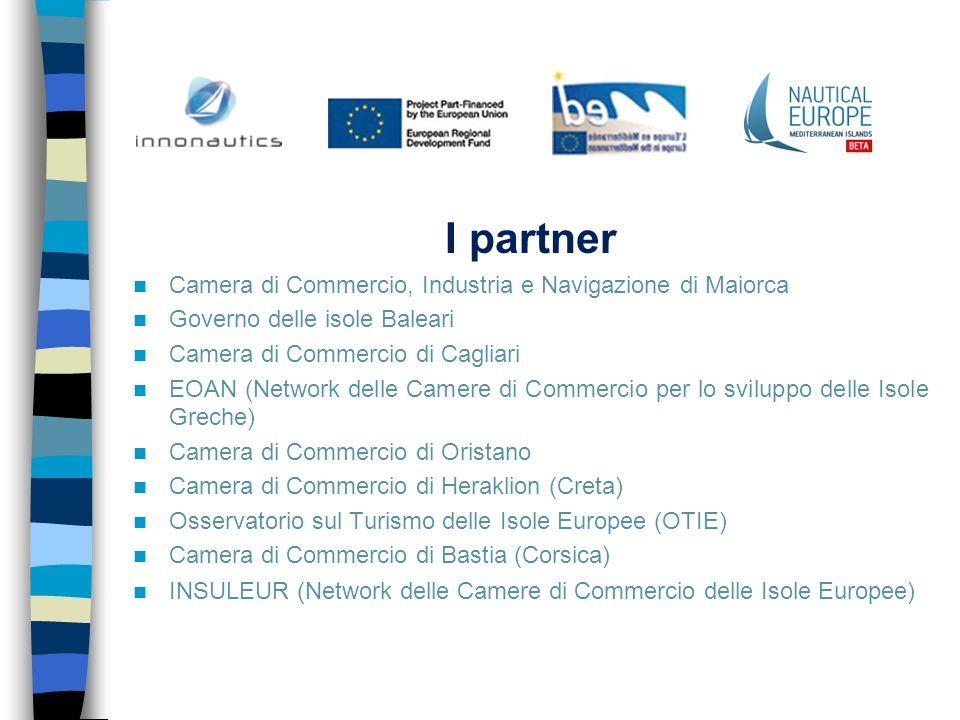 I partner Camera di Commercio, Industria e Navigazione di Maiorca Governo delle isole Baleari Camera di Commercio di Cagliari EOAN (Network delle Came