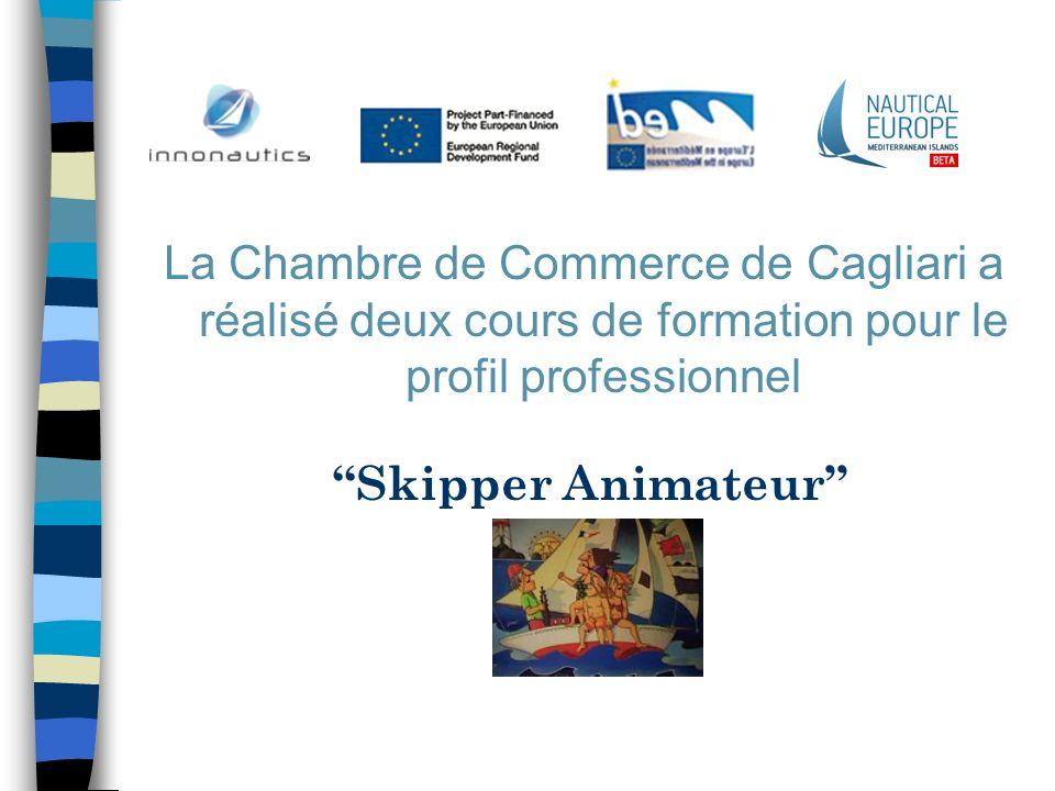 La Chambre de Commerce de Cagliari a réalisé deux cours de formation pour le profil professionnel Skipper Animateur