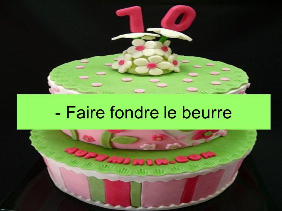 -S-Sortir le gâteau du four ( incorporer le jus des raisins [calvados] si ce n'étais pas encore fait)