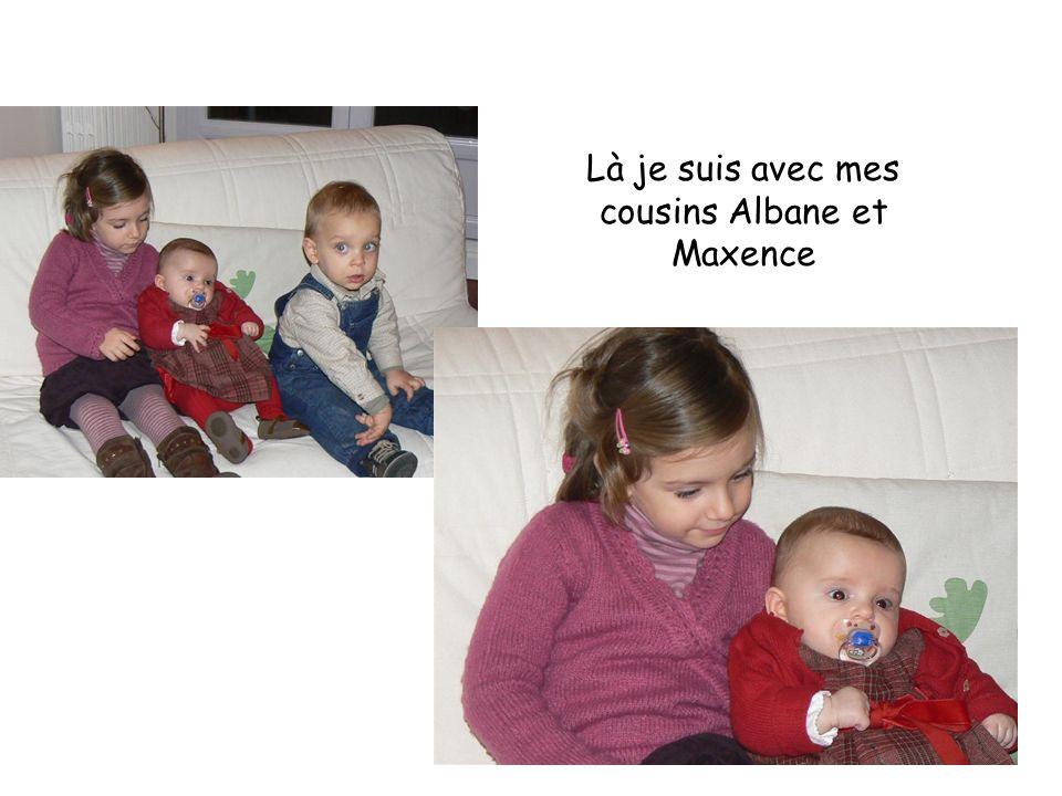 Là je suis avec mes cousins Albane et Maxence