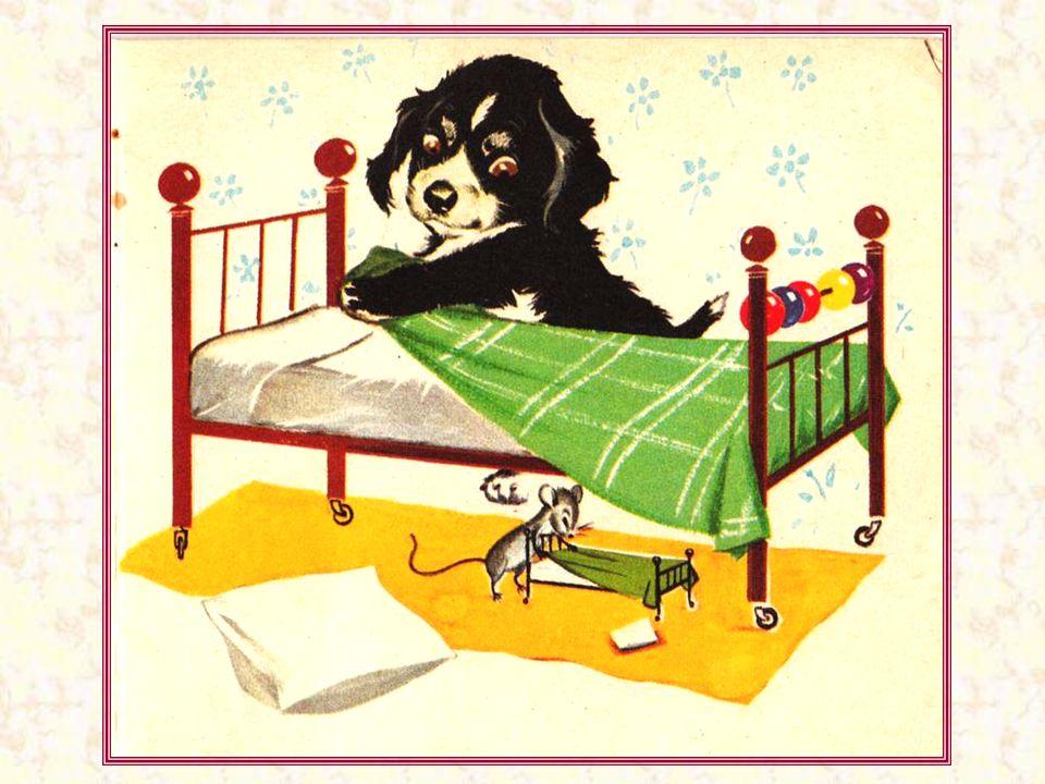Il fait son lit sans rouspéter ! - Dépêche-toi, Grisette, où je vais finir avant toi ! Et toi, tu fais ton lit, quelquefois ?