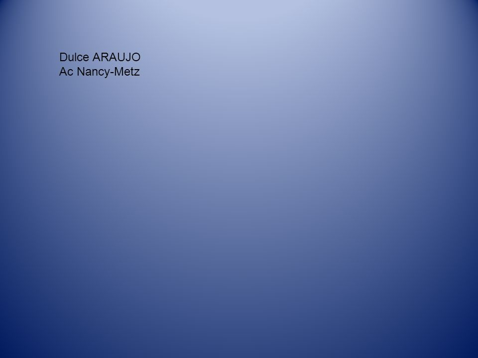 Dulce ARAUJO Ac Nancy-Metz