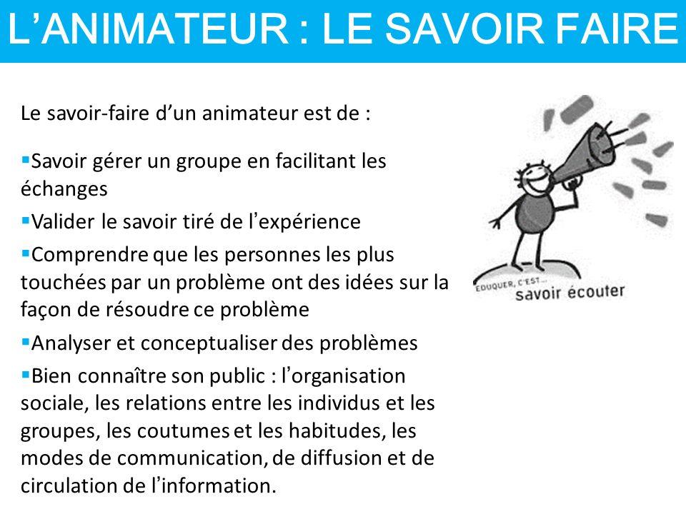 LA REFLEXION ET LE TRAVAIL DE GROUPE Conseils  Il est préférable de commencer avec des groupes de 3 ou 4 personnes.