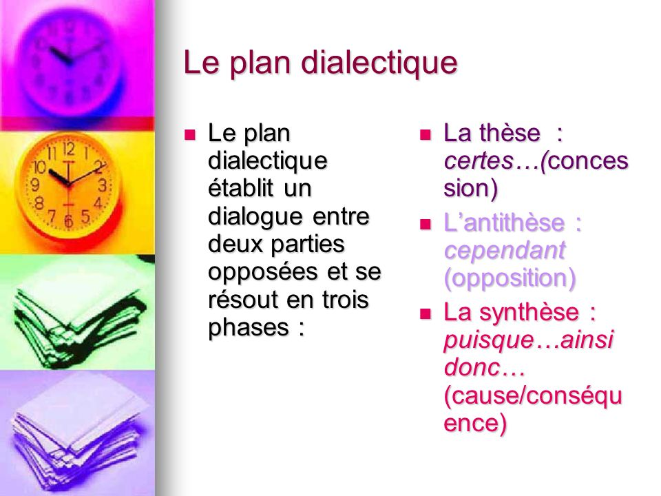 dissertation plan analytique méthode