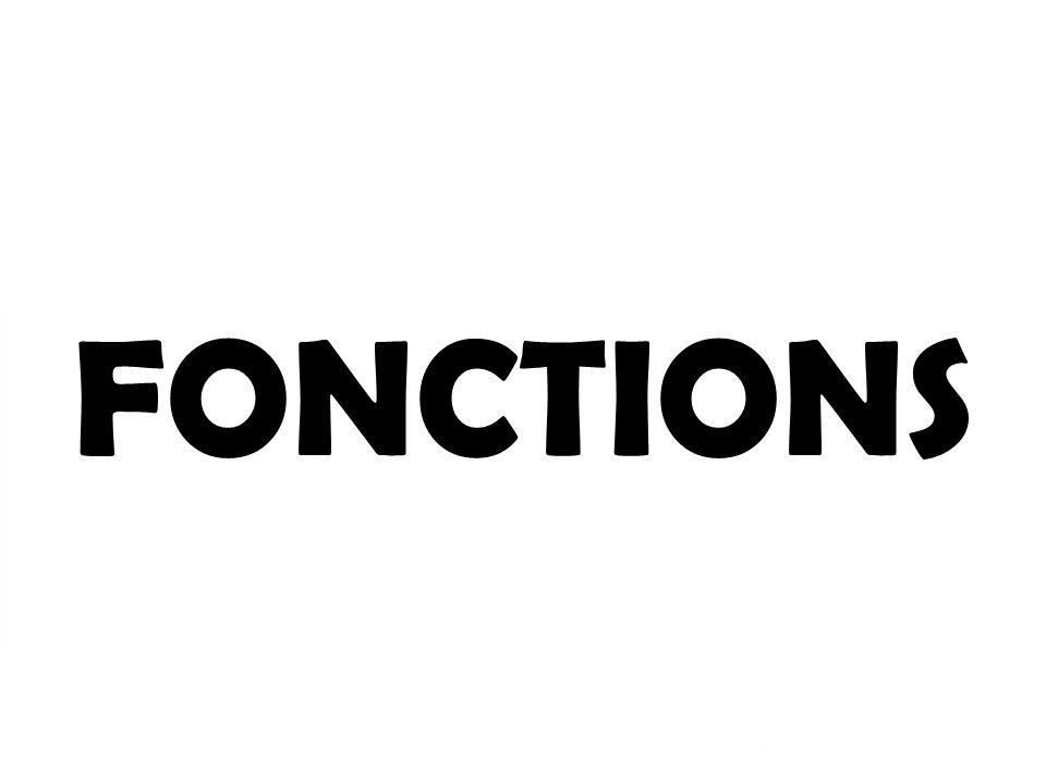 1- Soutien2- Protection Les fonctions FONCTIONS