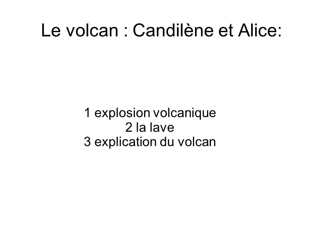 Le volcan Une éruption volcanique.Elle survient dans la chambre du magma sous pression.
