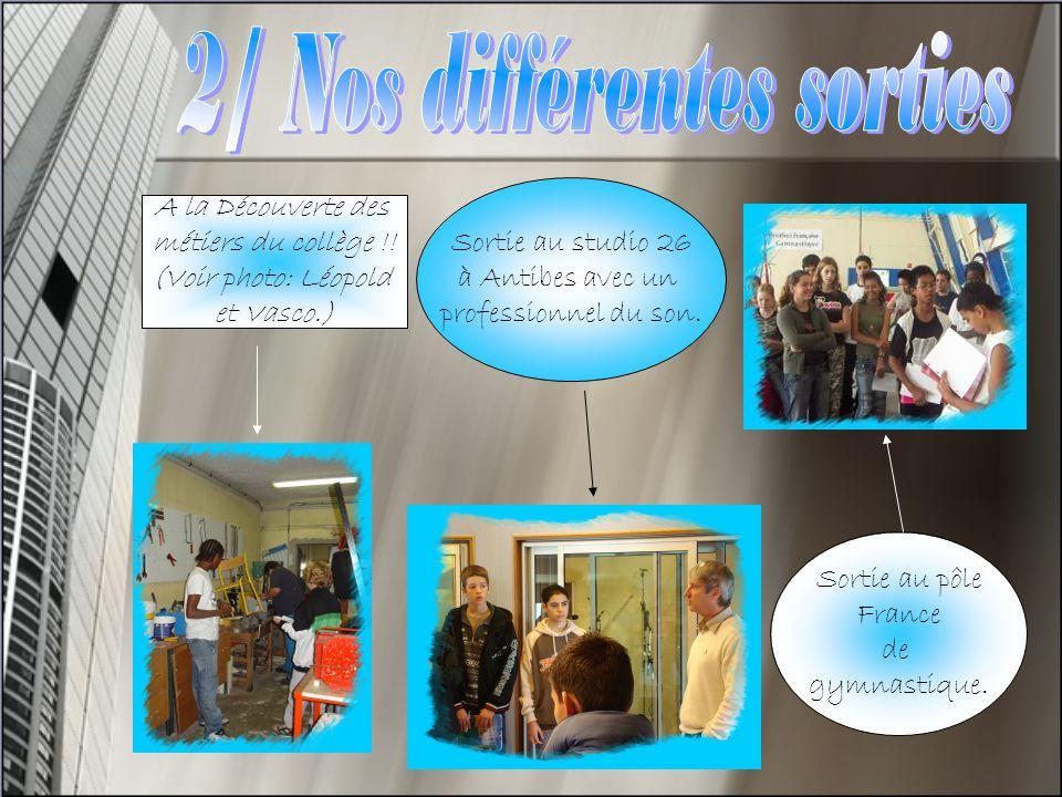 Sortie pour un quizz- concours réunissant toutes les DP3 à la faculté de sciences de Valrose.