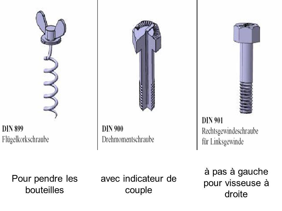 mentions en « braille » pour aveugles auto perceuse et auto taraudeuse