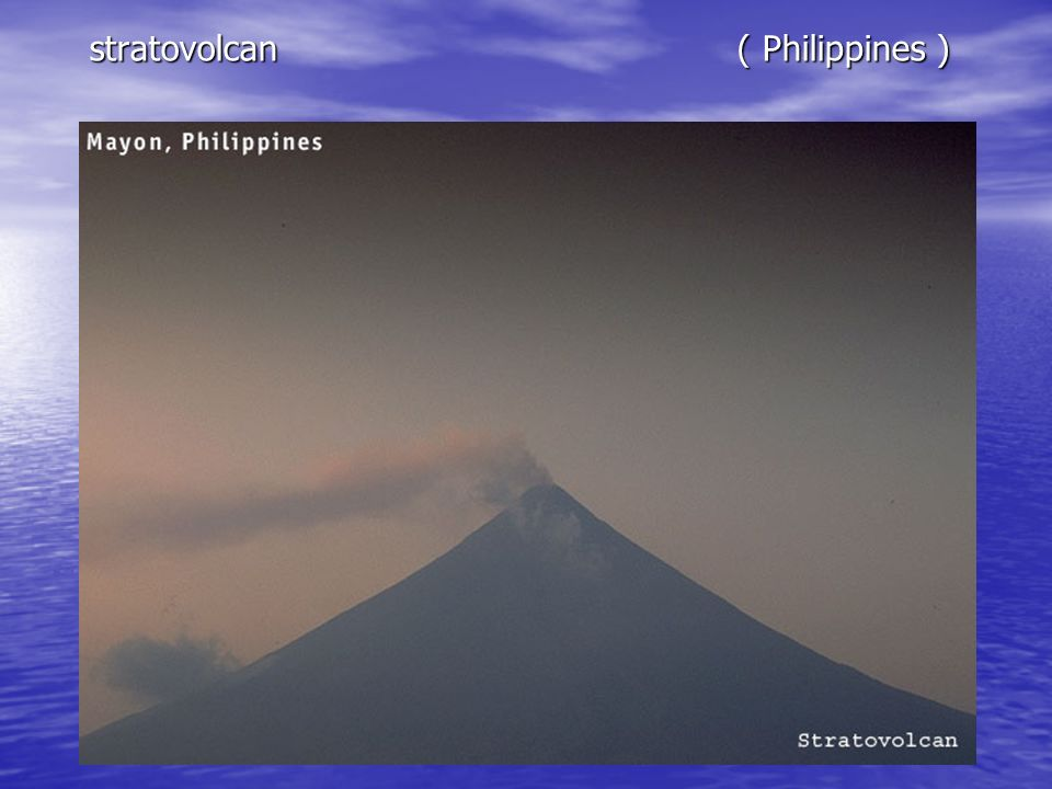 stratovolcan ( Philippines )