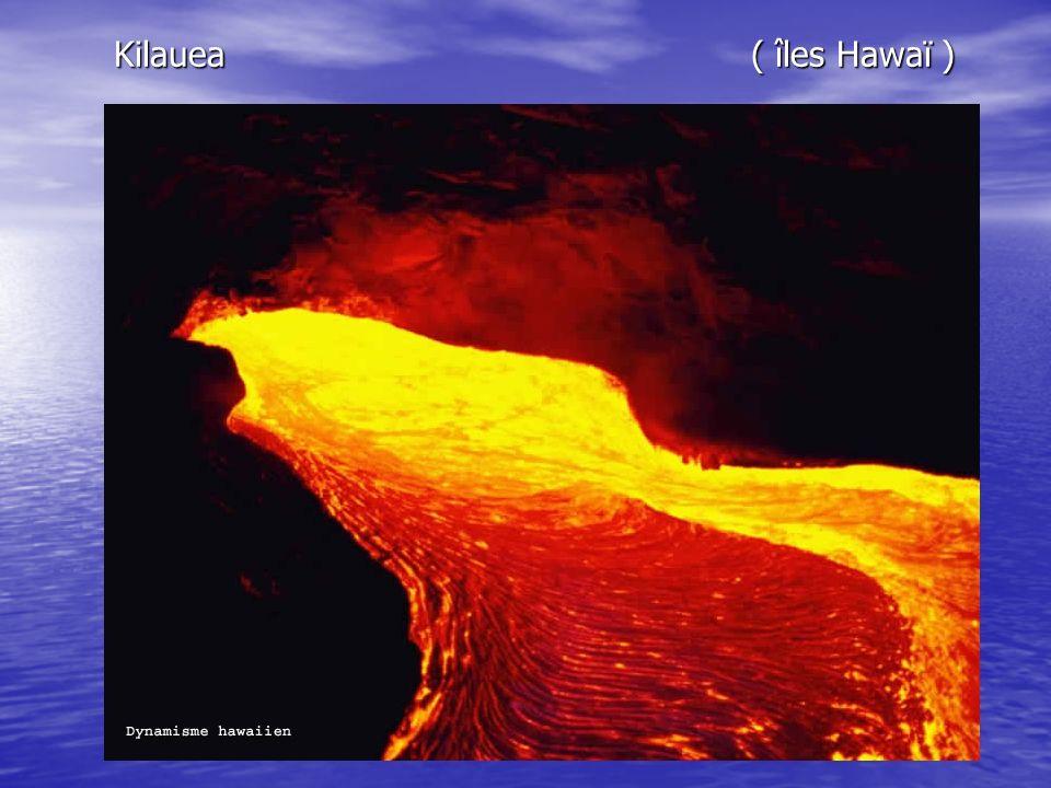Kilauea ( îles Hawaï ) Kilauea ( îles Hawaï )