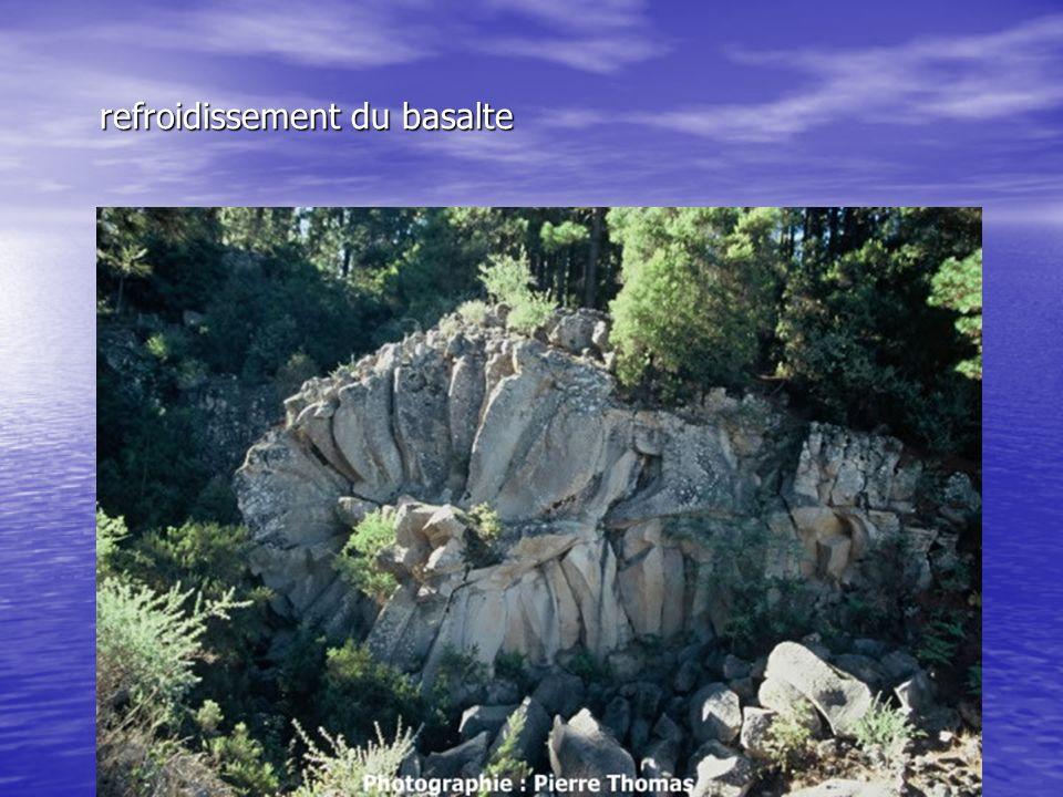 refroidissement du basalte refroidissement du basalte