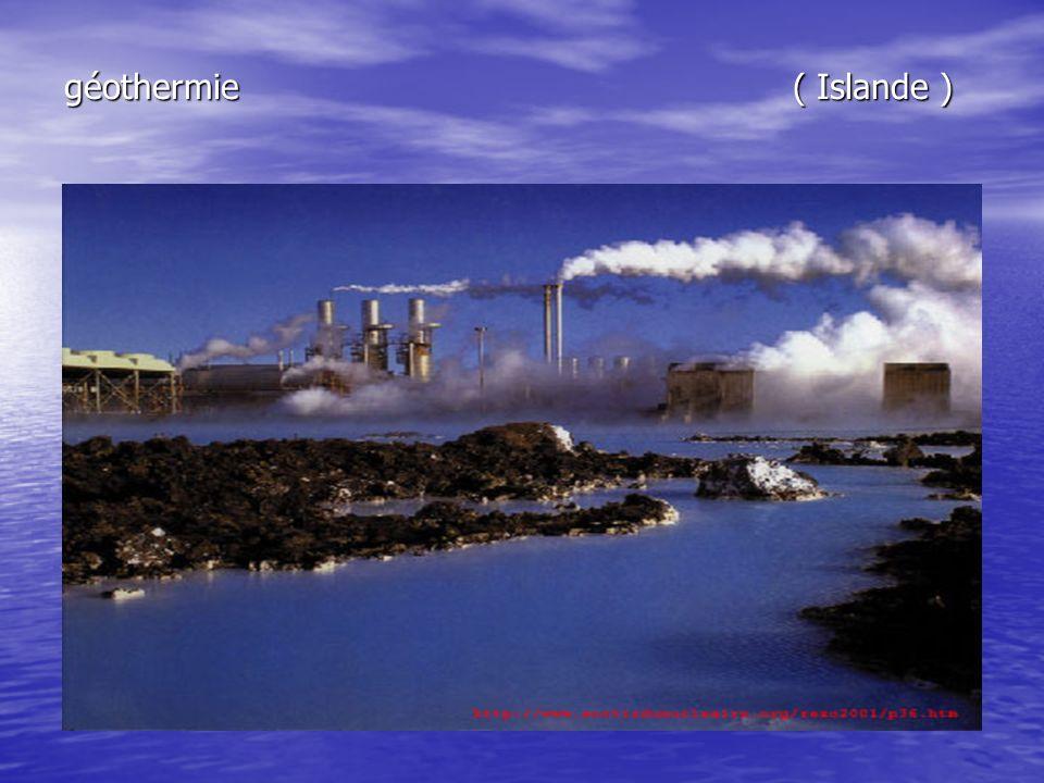 géothermie ( Islande )