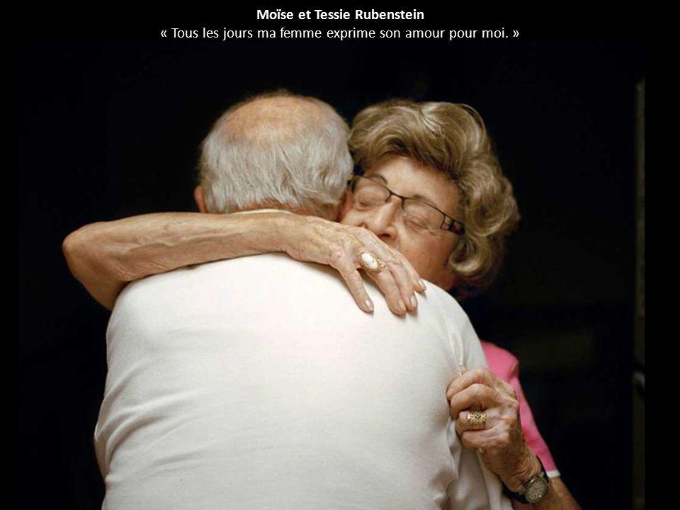 Moïse et Tessie Rubenstein « Tous les jours ma femme exprime son amour pour moi. »