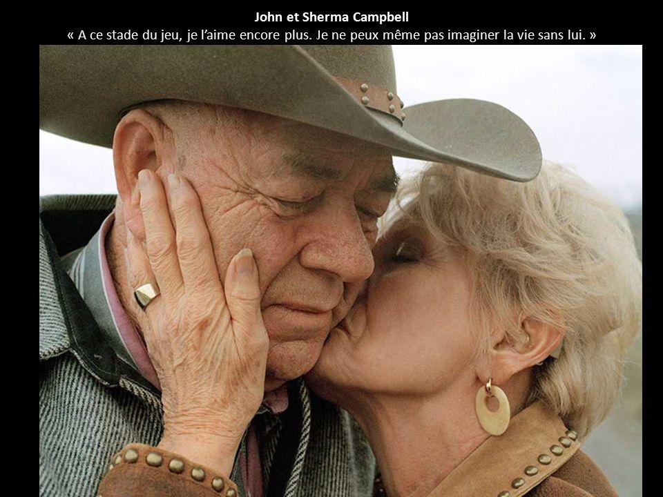 John et Sherma Campbell « A ce stade du jeu, je l'aime encore plus. Je ne peux même pas imaginer la vie sans lui. »